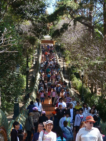 Obiective turistice Chiang Mai: Urcare spre Doi Suthep