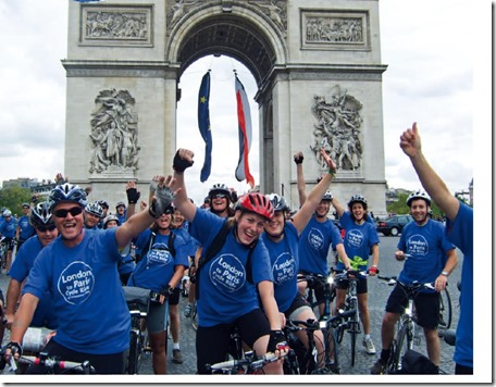 St Luke's (Cheshire) Hospice is looking for fundraisers to take part in next year's London to Paris cycle ride