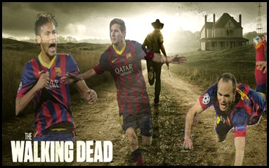 The walking  Barsa dead