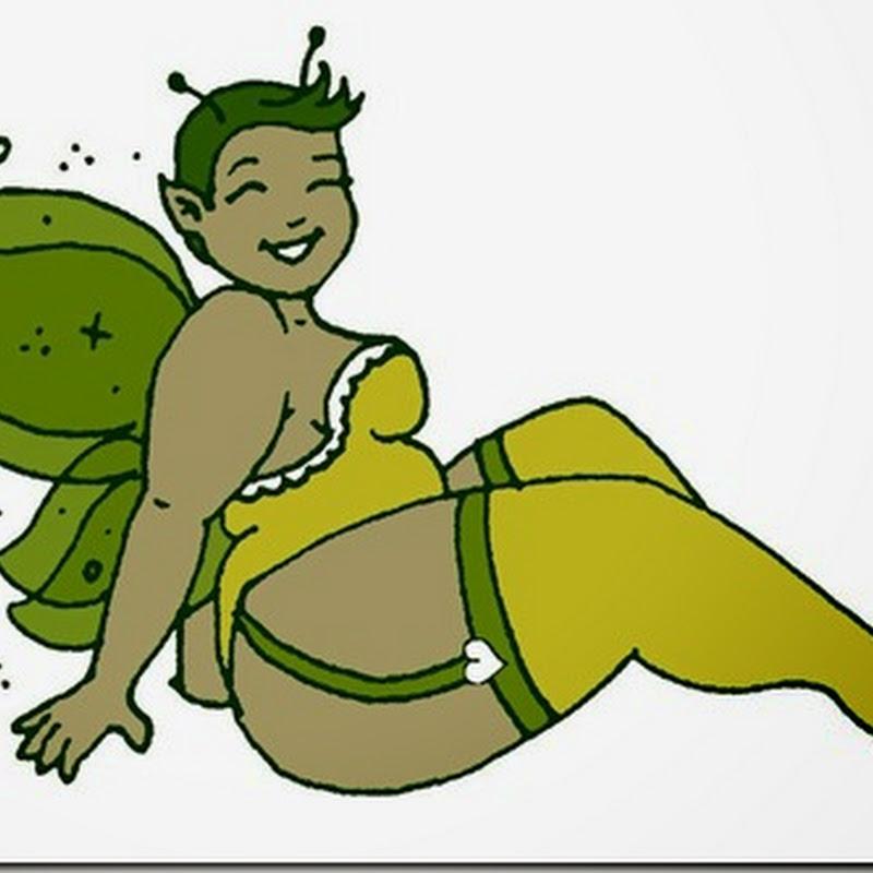 Dibujos de hadas gordas