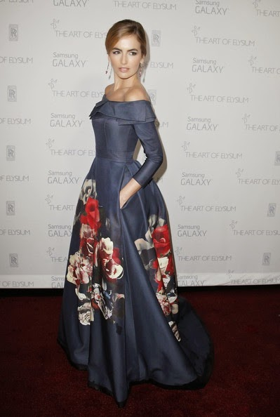 Camilla Belle attends the Art of Elysium and Samsung Galaxy