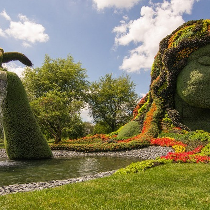 Mosaiculture Exhibition 2013 at Montreal Botanical Garden