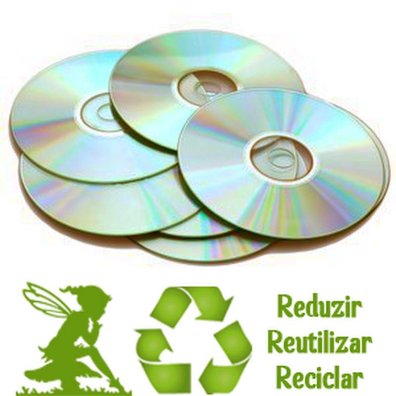 O que fazer com CDs e DVDs antigos