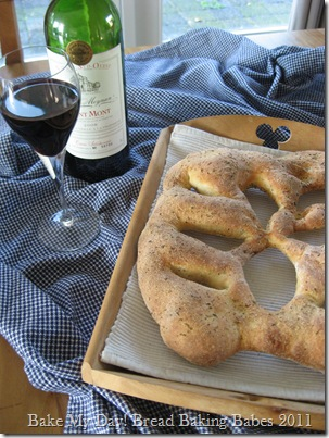 Fougasse herbs/olive oil