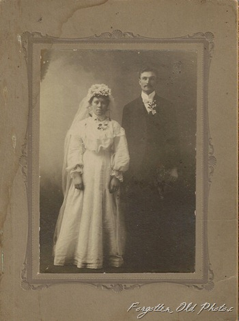 Blurry Wedding photo 1900 Vines DL Antiques