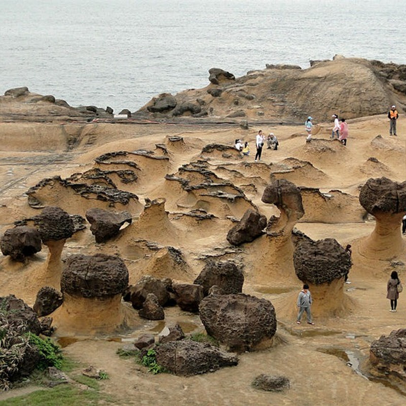 The Bizarre Landscape of YehLiu Geopark