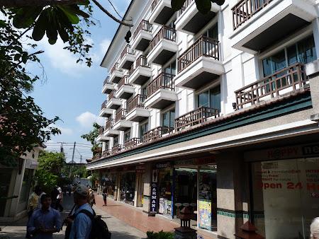 O aripa a hotelului Rambuttri Village Inn Bangkok