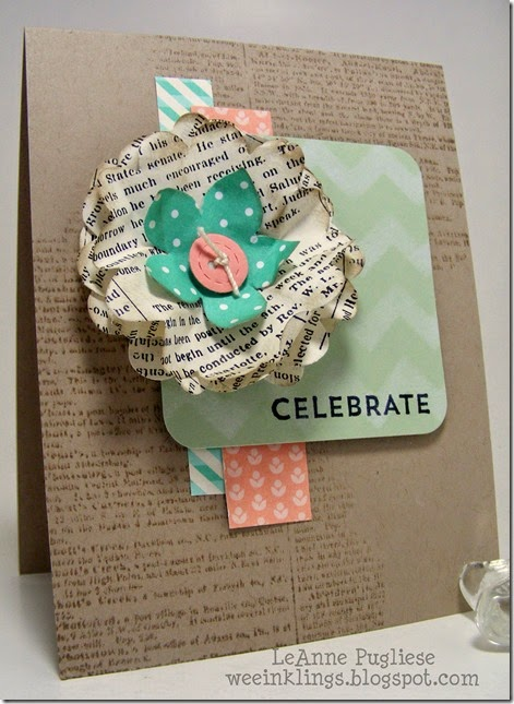 LeAnne Pugliese WeeInklings Dictionary Celebrate Baby Stampin Up