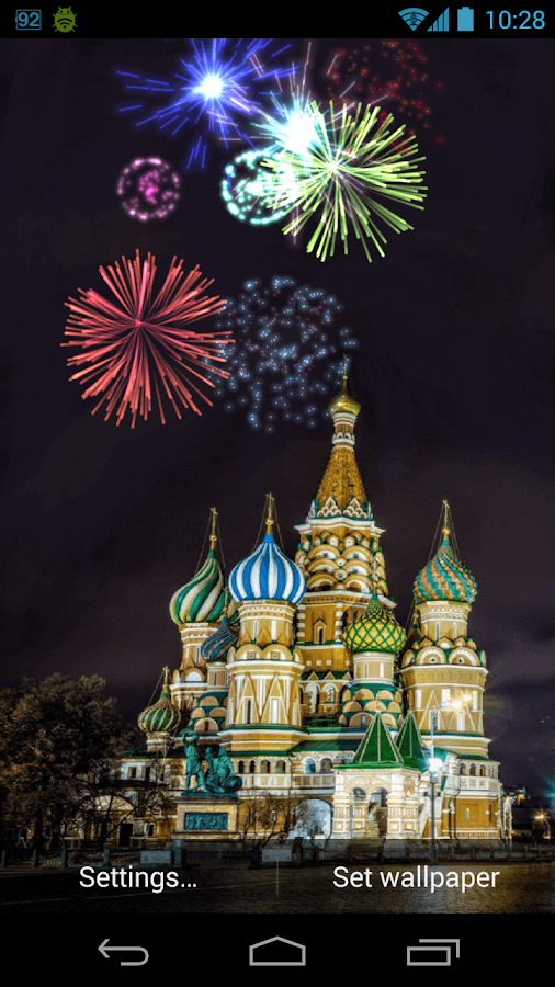 firework live wallpaper android