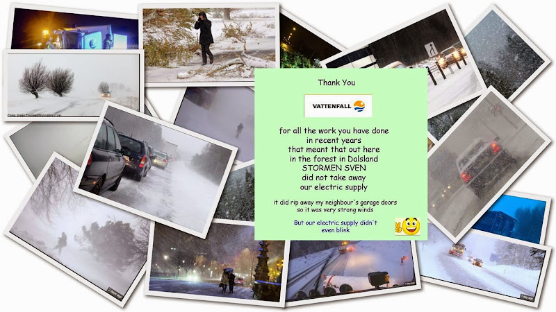 Vattenfall Sven collage