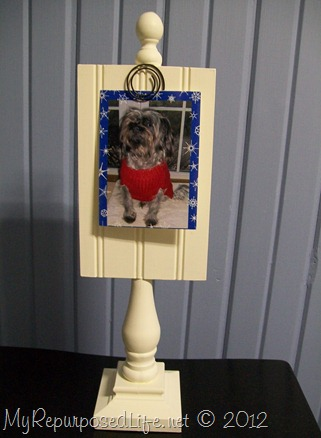 spindle photo holder