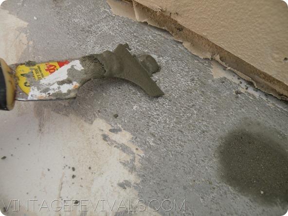 Painted Concrete Floors Vintage Revivals