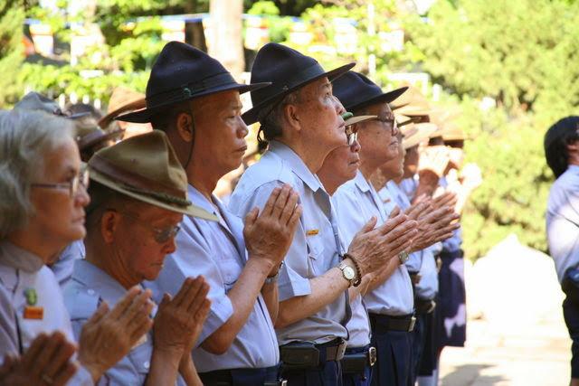 IMG 1717 Đại lễ Phật đản PL 2557 tại Tu viện Quảng Hương Già Lam
