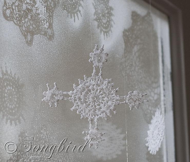 Songbird Ice Flowers 2