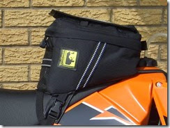 Geezer With A Grudge Product Review Wolfman Enduro Tank Bag