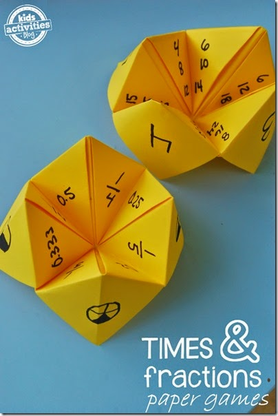 Multiplication Practice with Paper Games - This is such a clever, fun way for kids to practice using a fun math games. Great for 2nd, 3rd, 4th, 5th, and 6th grade kids!