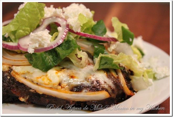 Mole Sauce Casserole | Pastel Azteca de Mole
