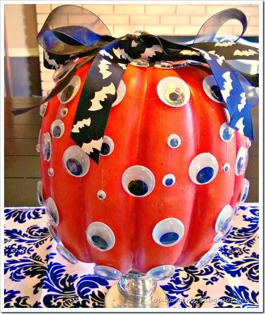 eyeball pumpkin