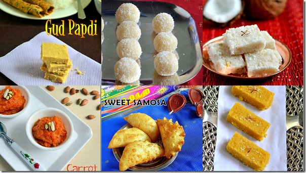 30 Easy Diwali Sweets Recipes Indian Deepavali Sweets