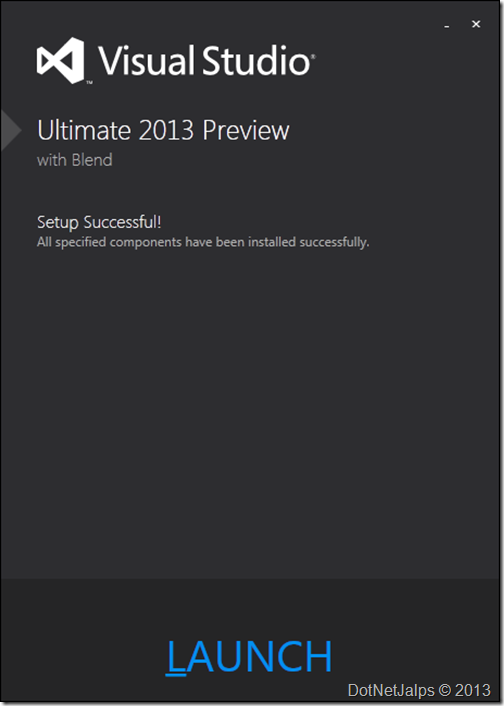 VisualStudio2013InstallationStep4