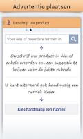 Screenshot of Marktplaats