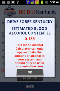DRIVE SOBER KENTUCKY - screenshot thumbnail
