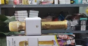 MIC KARAOKE SD-09L- LED- Có Cổng USB Và Thẻ Nhớ - ÂM THANH CỰC HAY