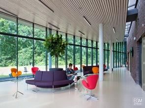 diseño sala de espera Instituto Verbeeten