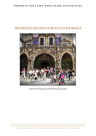Proposta Para Um Mobilidade Sustentável - Promoção do uso da bicicleta em Braga