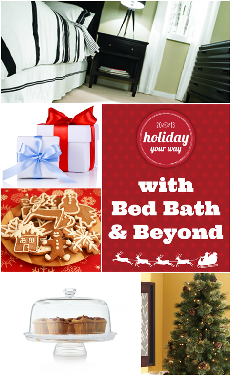 Holiday Your Way with Bed Bath & Beyond #holiday #Christmas #giftideas #entertaining #sponsored