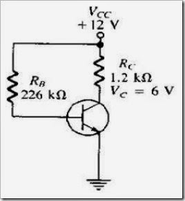MCQs in  Transistor Bias Circuits  Fig. 01