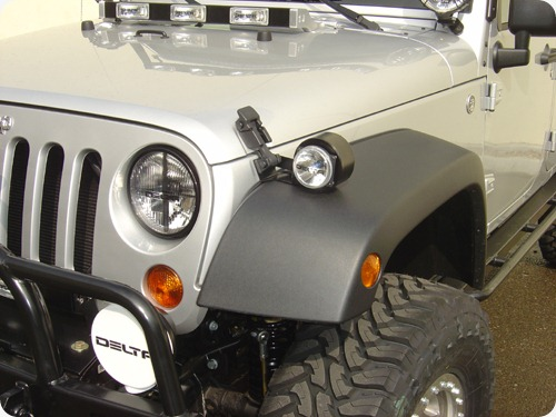 Delta fender Light Set for Wrangler TJ & JK