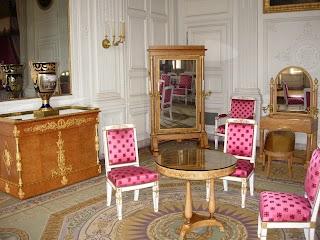 Chambre à coucher de Louis XIV au Grand Trianon à Versailles