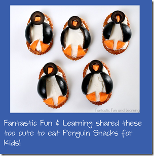 Penguin Snacks for Kids