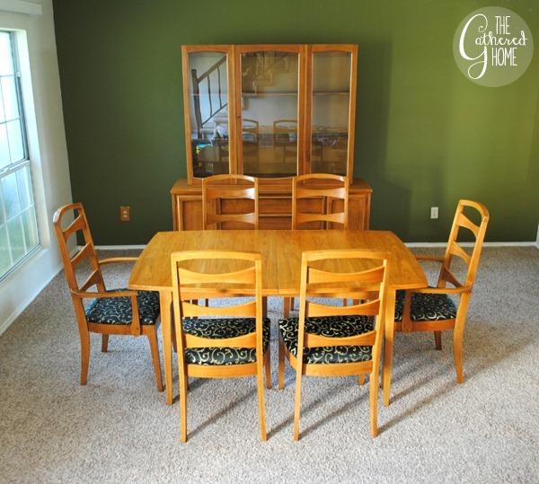 mid century dining set