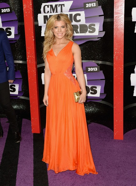 Kimberly Perry of The Band Perry attends the 2013 CMT Music awards