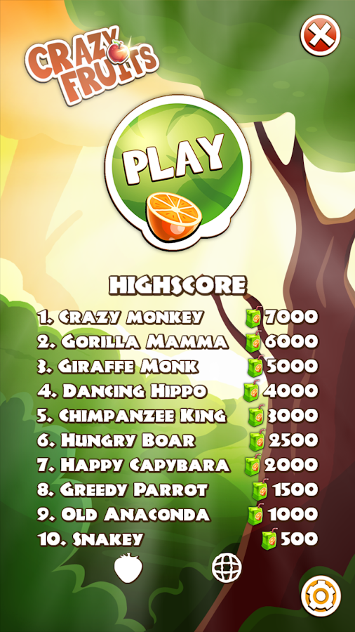 Crazy Fruits- screenshot