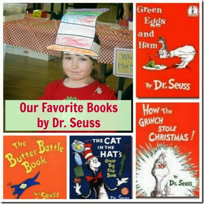 Favorite Dr Seuss Books from Afterschool for Smarty Pants