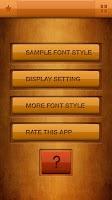 Screenshot of Zawgyi Design Galaxy Font