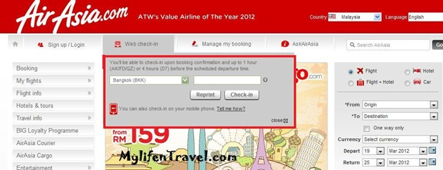 Airasia how to online Check in 2