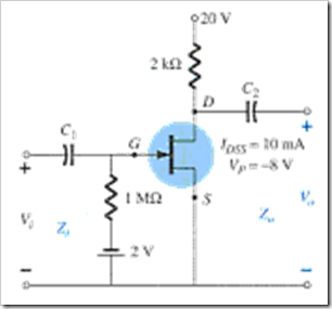 MCQs in FET Amplifiers Fig. 06