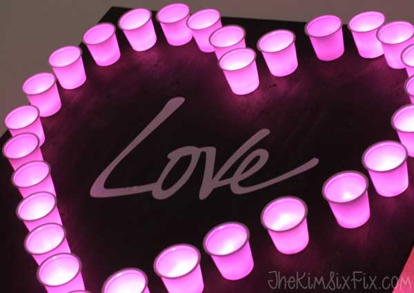 KCup Heart Light