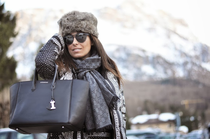 outfit, cortina d'ampezzo, total look seventy, cortina fashion weekend, italian fashion bloggers, fashion bloggers, street style, zagufashion, valentina coco, i migliori fashion blogger italiani