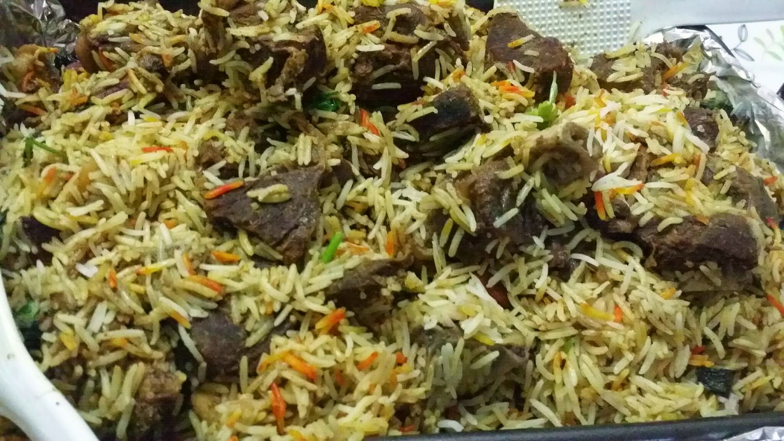 ZULFAZA LOVES COOKING: Briyani kambing (arab)