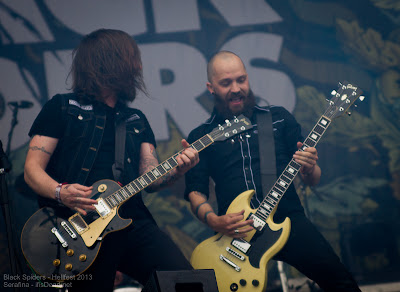 Black Spiders au Hellfest 2013