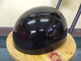image - カスタムペイント工程 ダックテールヘルメット