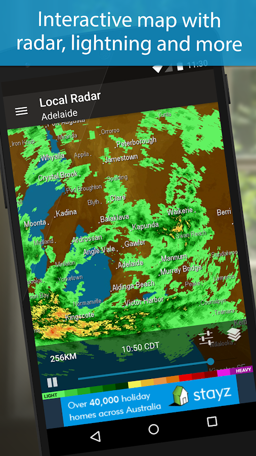 Weatherzone - screenshot