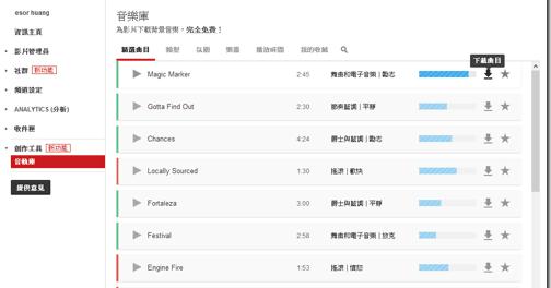 YouTube 開放高音質 MP3 免費下載,線上音軌資料庫