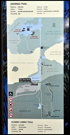01 - Royal Palm Visitor Center Map