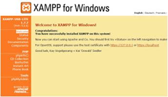 Software Gratis XAMPP versi XAMPP 1.8.0